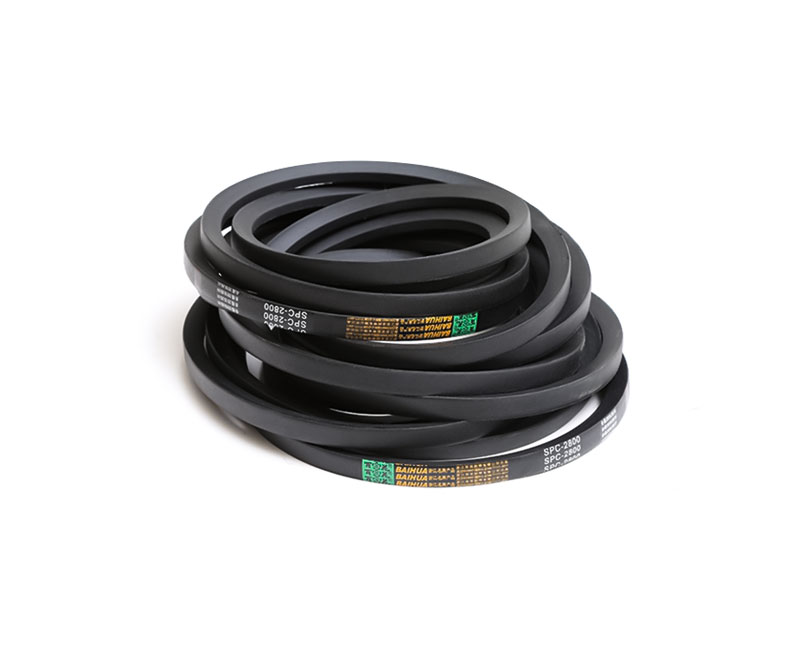 SPC Type High Strength Triangular V Belts / single